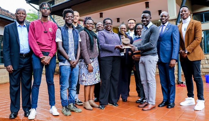 USIU-Africa film wins a Prestigious Award at Kalasha