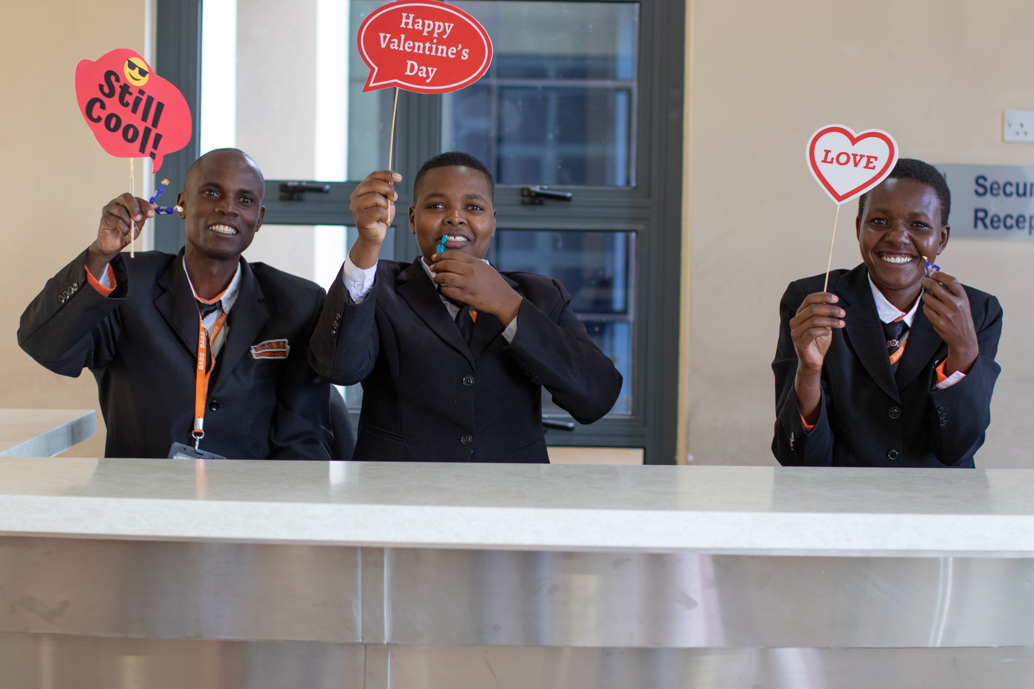 Putting the US in USIU-Africa: USIU-Africa celebrates Valentines Day in style!