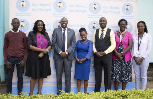 Alumni Affairs pays courtesy call on Strathmore and UoN alumni associations