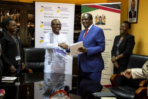 USIU-Africa signs agreement to enhance knowledge...