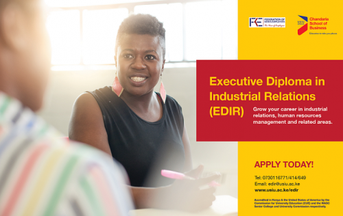 Executive Diploma in Industrial Relations Intake is ongoing!
