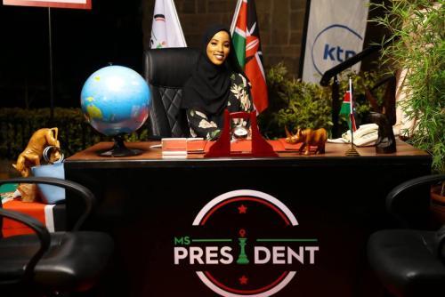 Ms. President: APT senior trailblazes on...