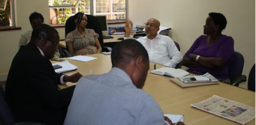 DBA Alumni take part in program review