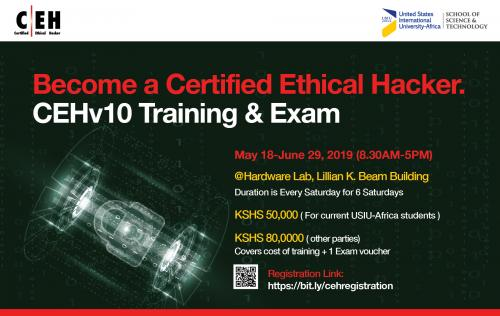 CEHv10 Training and Exam