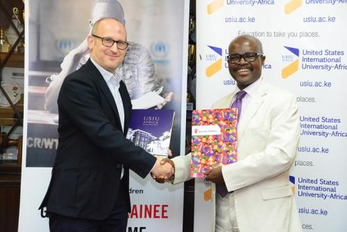 USIU-Africa and Save the Children roll out graduate trainee program