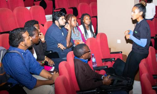 APT and IST students meet Black Googlers Network