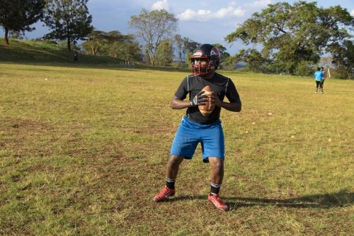 New students urged to explore American football...