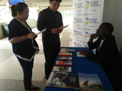 International Relations and Journalism students participate in the First UN- Habitat Assembly