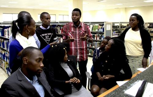 Library inducts new interns for the 2019 Summer...
