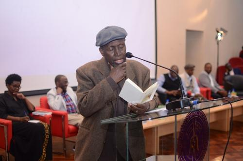 Professor Ngugi Wa Thiongo honored during book...