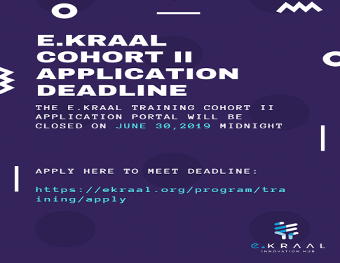 E.KRAAL National Cyber Security Training Cohort 2 Application