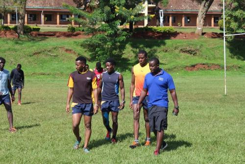 USIU-Africa Rugby team conducts rugby clinic in...