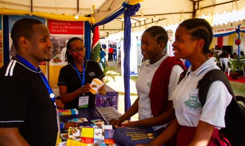 USIU-Africa participates in the 14th edition of the Tanzania Commission for Universities exhibition