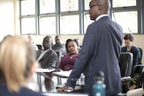 USIU-Africa hosts 27 fellows from the Network of...