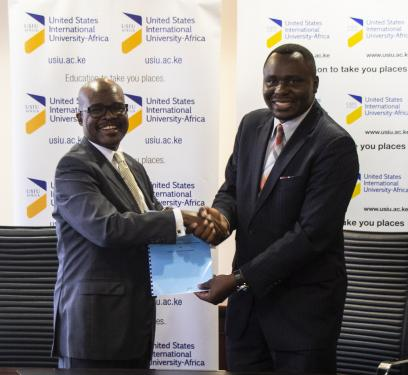 USIU-Africa signs MOU with the Cyber Security...