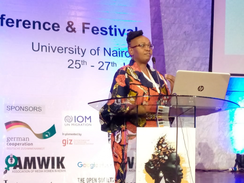 School of Communication, Cinematic and Creative Arts faculty, participates in the African Women in Media (AWiM) Conference