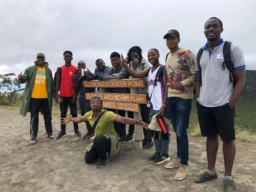 The Hostels department hosts day trip to Mt. Longonot, Naivasha
