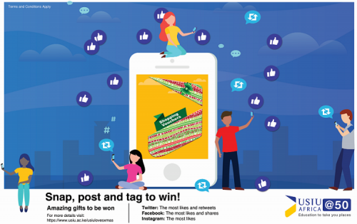 #USIUlovesXmas:Snap, post and win!