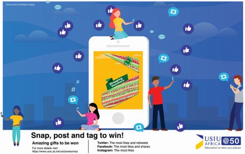 #USIUlovesXmas:Snap, post and win!