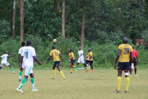 USIU-Africa staff soccer team shines in Kakamega