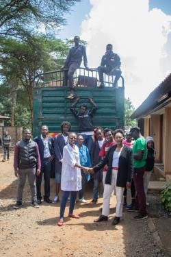 USIU-Africa makes donation to Dandora Hip Hop City (DHC)