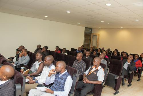 USIU-Africa hosts security training awareness seminar in preparation for biometric system roll out