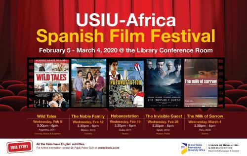 USIU-Africa hosts Spanish film festival