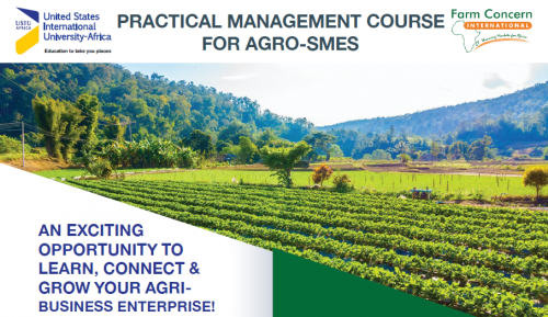PRACTICAL MANAGEMENT COURSE FOR AGRO-SMES