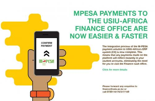 Mobile Money payments (M-PESA)