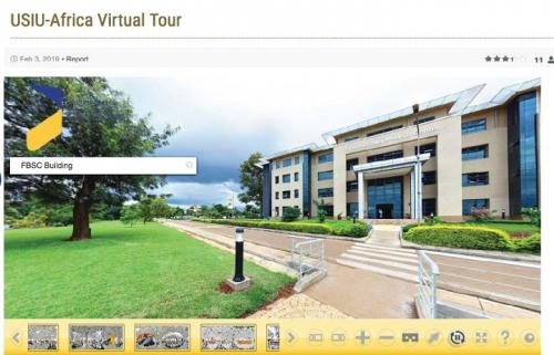 Admissions Office conducts a Virtual Tour and Career Talk for prospective students
