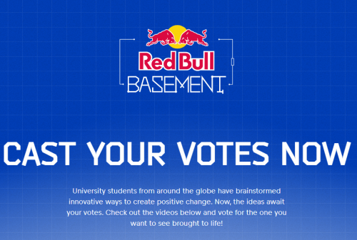Three students from the School of Science and Technology selected to take part in the Red Bull Basement Competition