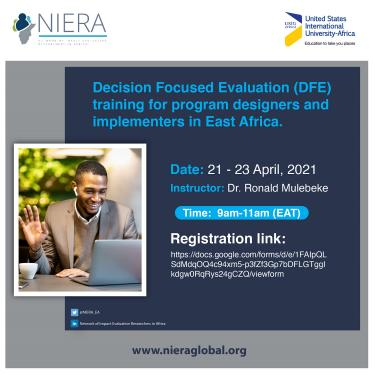 DFE Training for program designers and implementers in East Africa