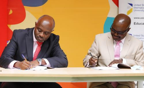 USIU-Africa signs agreement making Qwetu the official student accommodation provider for the university