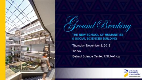 Ground Breaking Ceremony - The New School of Humanities & Social Sciences